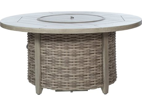 Ebel Woven Round Fire Pit Base