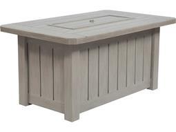 Aluminum Rectangular Firepit Table Base