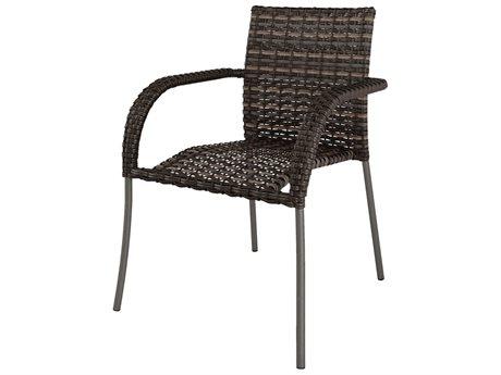 Ebel Mios Wicker Bistro Arm Chair