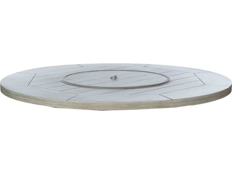 Ebel Portofino Aluminum 42'' Wide Round Firepit Top With Lid