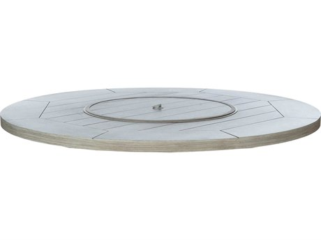 Ebel Portofino Aluminum 50'' Wide Round Firepit Top With Lid