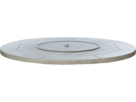 Ebel Castello Aluminum 50'' Wide Round Firepit Top With Lid