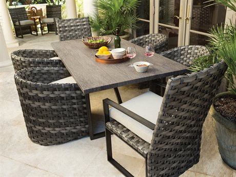 Ebel Allegre Wicker Dining Set
