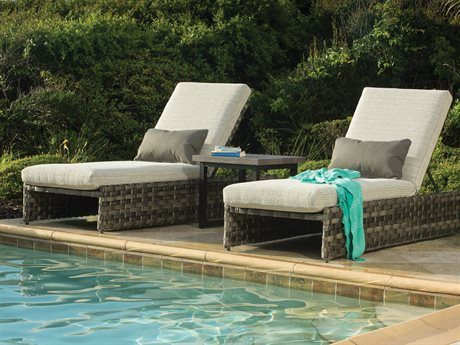 Ebel Allegre Wicker Chaise Lounge Set