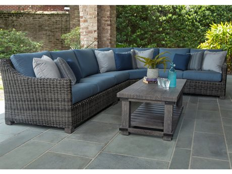 Ebel Avallon Wicker Sectional Lounge Set