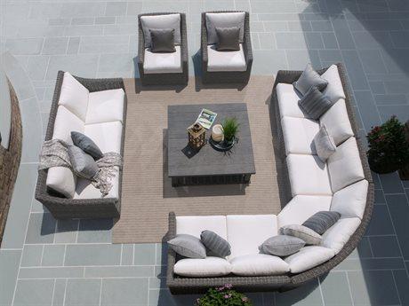 Ebel Avallon Wicker Sectional Lounge Set