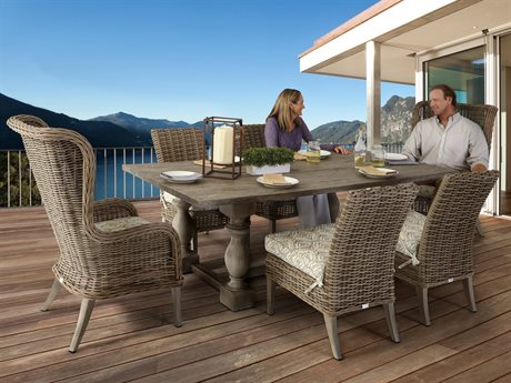 Ebel Bellevue Wicker Dining Set