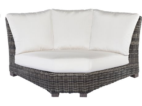 Ebel Avallon 90 Curved Corner Loveseat Replacement Cushions PatioLiving