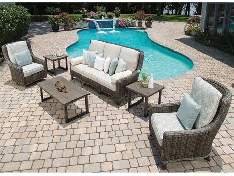 Ebel Geneva Wicker Lounge Set