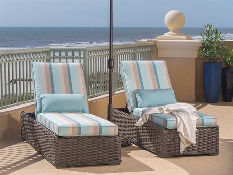 Ebel Laurent Wicker Chaise Lounge Set PatioLiving