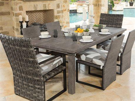 Ebel Lucca Aluminum Dining Set