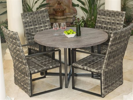 Ebel Lucca Wicker Dining Set