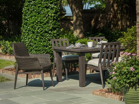 Ebel Lasalle Padded Wicker Dining Set