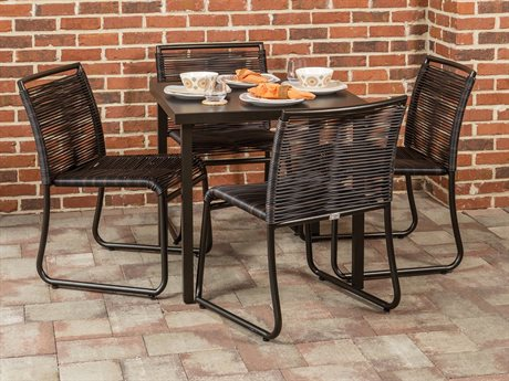 Ebel Monaco Wicker Dining Set