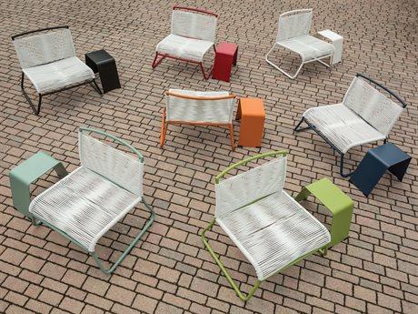 Ebel Monaco Wicker Lounge Set PatioLiving