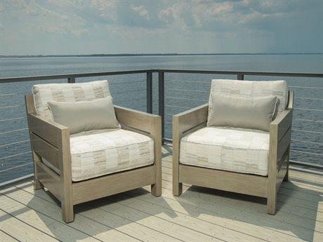 Ebel Napoli Aluminum Lounge Set