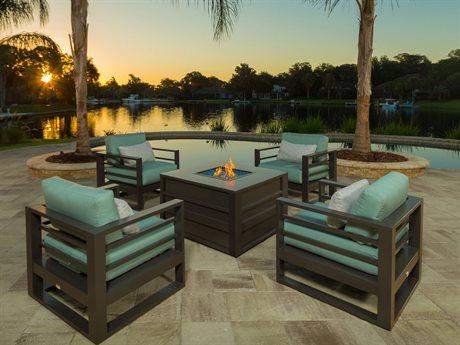 Ebel Palermo Cushion Aluminum Lounge Set