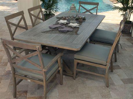 Ebel Portofino Aluminum Dining Set