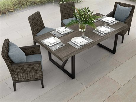 Ebel Remy Wicker Dining Set PatioLiving