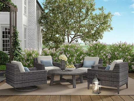 Ebel Remy Wicker Lounge Set PatioLiving