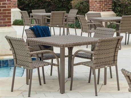 Ebel Tremont Driftwood Wicker Dining Set