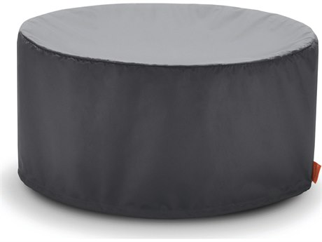 EcoSmart Fire Mix 600 Outdoor Bioethanol Fireplace Cover - Black Finish