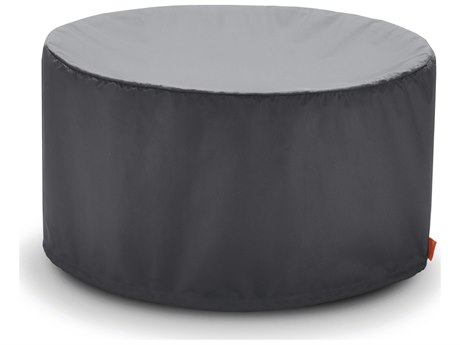 EcoSmart Fire Pod 40 Freestanding Firepit Cover - Steeple Grey