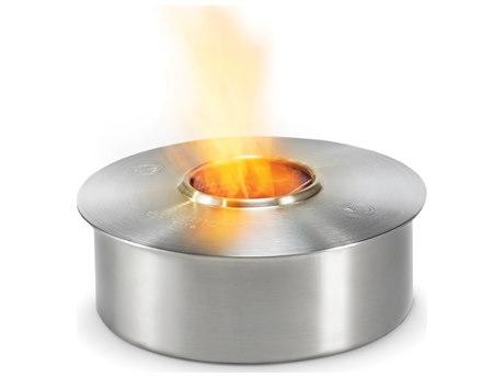 EcoSmart Fire AB3 Round Bioethanol Burner - Stainless Steel Finish PatioLiving