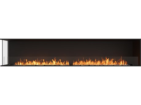 EcoSmart Fire Flex Fireboxes - Left Corner Fireplace