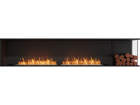 EcoSmart Fire Flex Fireboxes - Right Corner Fireplace