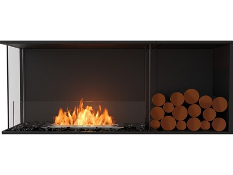 EcoSmart Fire Flex Fireboxes - Left Corner Fireplace PatioLiving