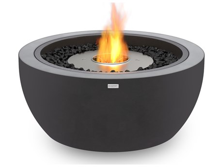 Ecosmart Fire Pod30 30'' Wide Concrete Steel Round Pit Table