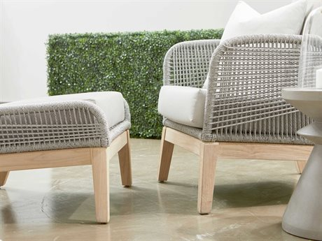 Essentials for Living Outdoor Woven Cushion Lounge Set PatioLiving