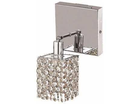 Elegant Lighting Mini Chrome Wall Sconce