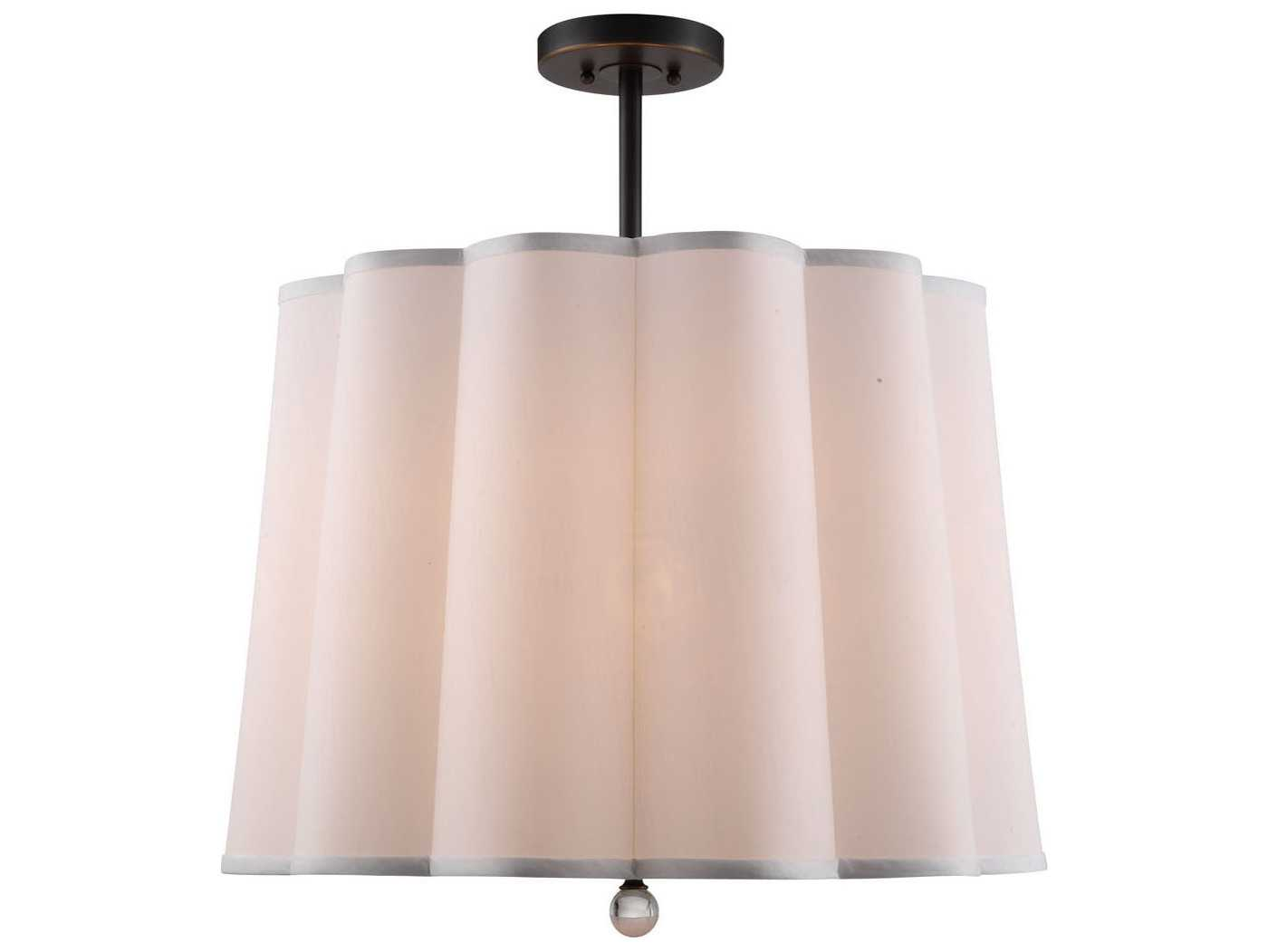 Elegant Lighting Plantation Bronze Five Lights 25 39 39 Wide