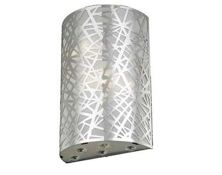 Elegant Lighting Prism Royal Cut Chrome & Crystal Two-Light Wall Sconce