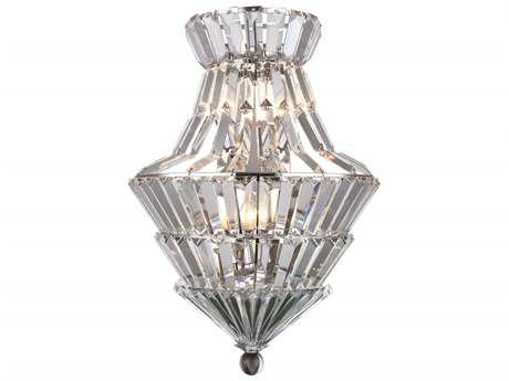 Elegant Lighting Tribeca Chrome Four-Light Wall Sconce