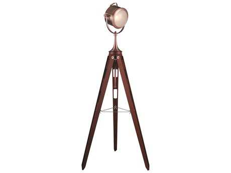 Elegant Lighting Ansel Tripod Brown Floor Lamp