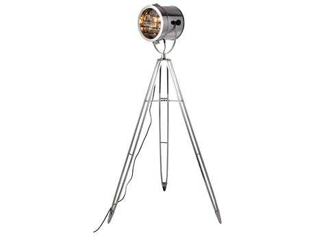 Elegant Lighting Ansel Tripod Chrome Floor Lamp
