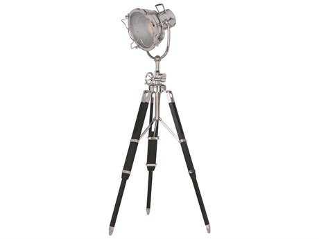 Elegant Lighting Ansel Tripod Chrome & Black Floor Lamp