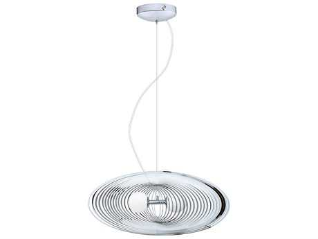 Eglo Omano Chrome Two-Light 13.5'' Wide Pendant Light