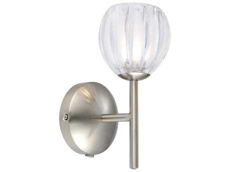 Eglo Lorcasa Matte Nickel Wall Sconce