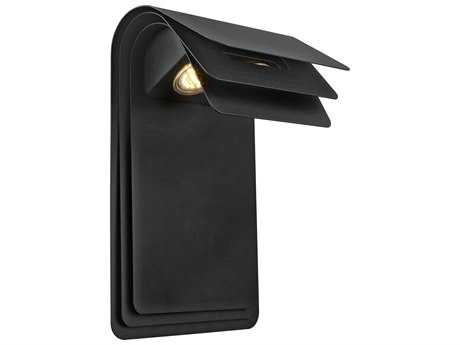 Eglo Sojo Matte Black Two-Light LED Outdoor Wall Light