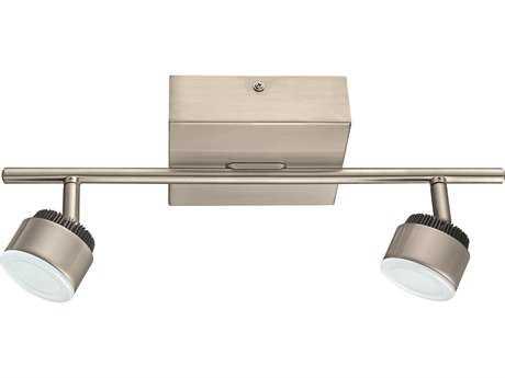 Eglo Armento Matte Nickel Two-Light LED Track Light