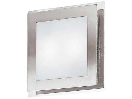Eglo Eos Matte Nickel & Chrome Two-Light Wall Sconce