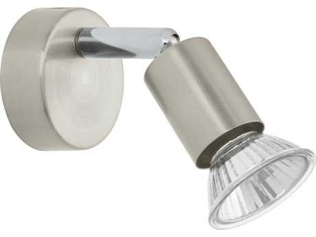 Eglo Buzz Matte Nickel & Chrome Wall Sconce