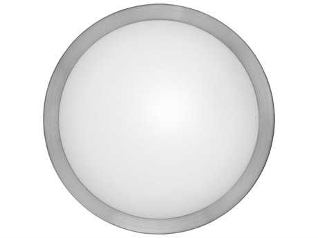 Eglo Arezzo Matte Nickel 11''' Wide Flush Mount Light