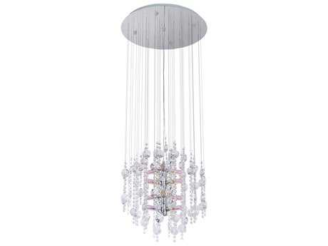 Eglo Alexandria Chrome 12-Light 20'' Wide Pendant Light