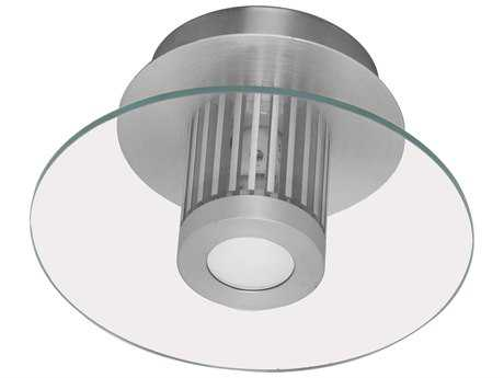 Eglo Chiron Aluminum 8'' Wide Flush Mount Light