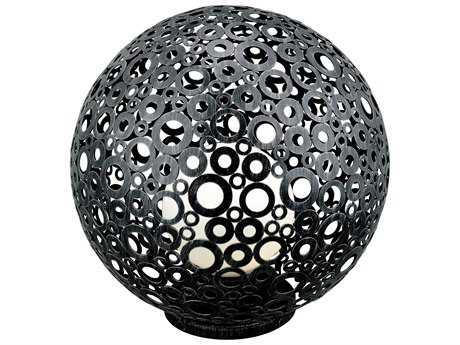 Eglo Ferroterra Black Outdoor Floor Lamp